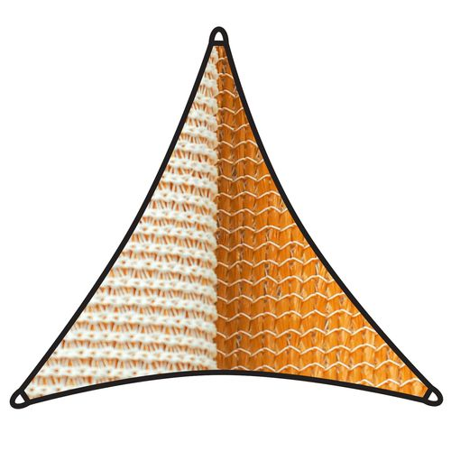 Coolaroo 5m 350gsm Savanna Triangle Dual Shade Sail