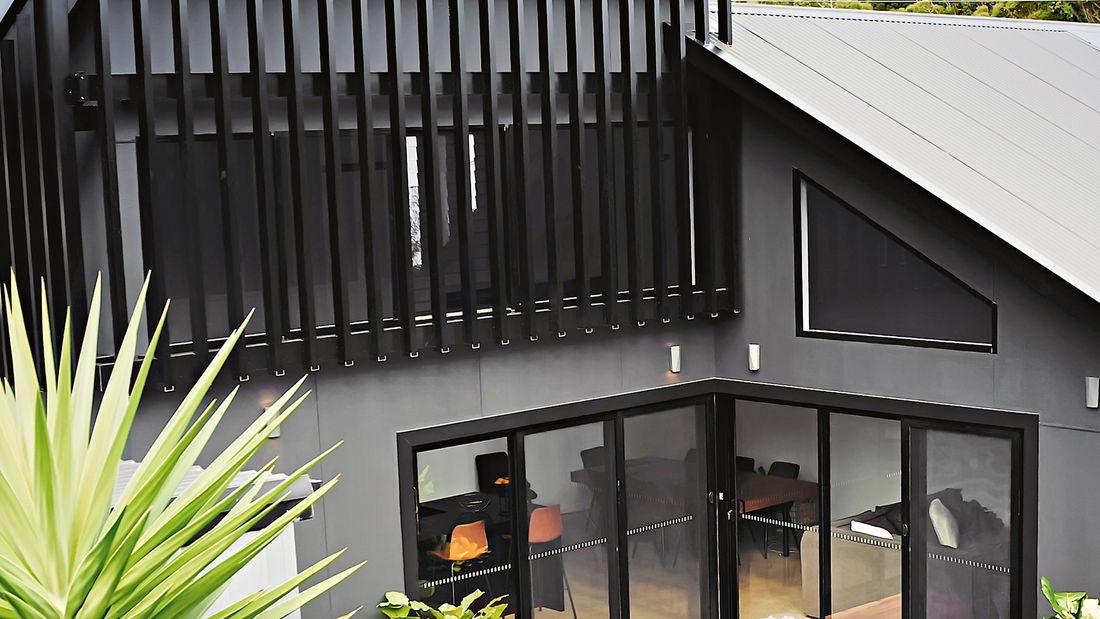 cladded house