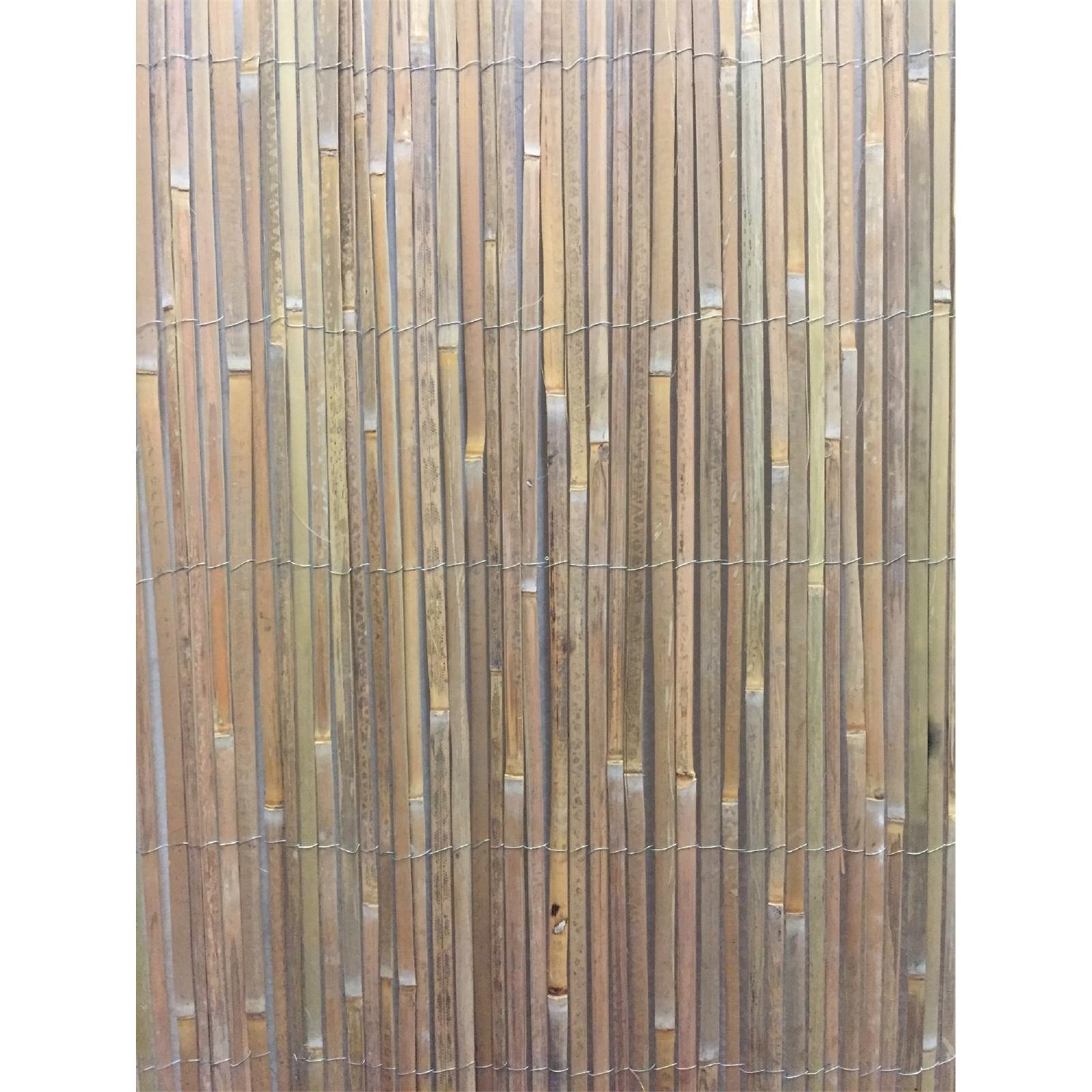 EDEN 1.5 x 3m Bamboo Slat Screen Fencing