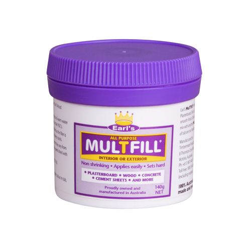Earl's MulTfill Ready To Use Filler - 0.140kg White
