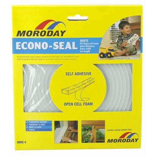 Moroday White Econo Weather Seal Tape