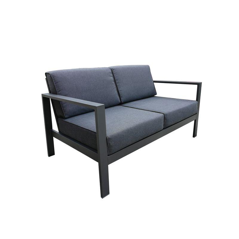 Aluminium Lava 2 Seater Sofa