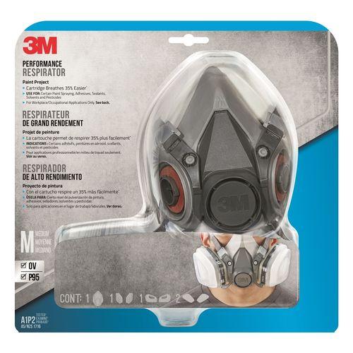 3M™ Performance Reusable Paint Project Respirator