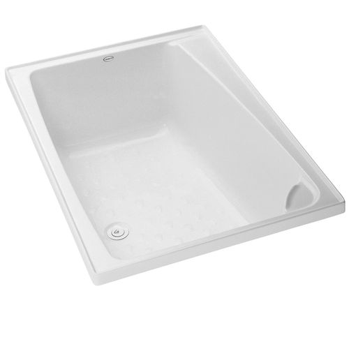 Clearite Bathrooms 1200 x 820 x 420mm White Dina Shub Bath Only