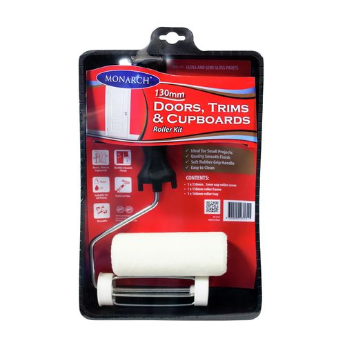 Monarch 130mm Doors Trims And Cupboards Roller Kit