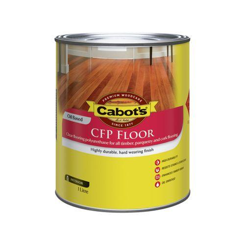 Cabot's 1L Satin Clear CFP Cabothane Polyurethane