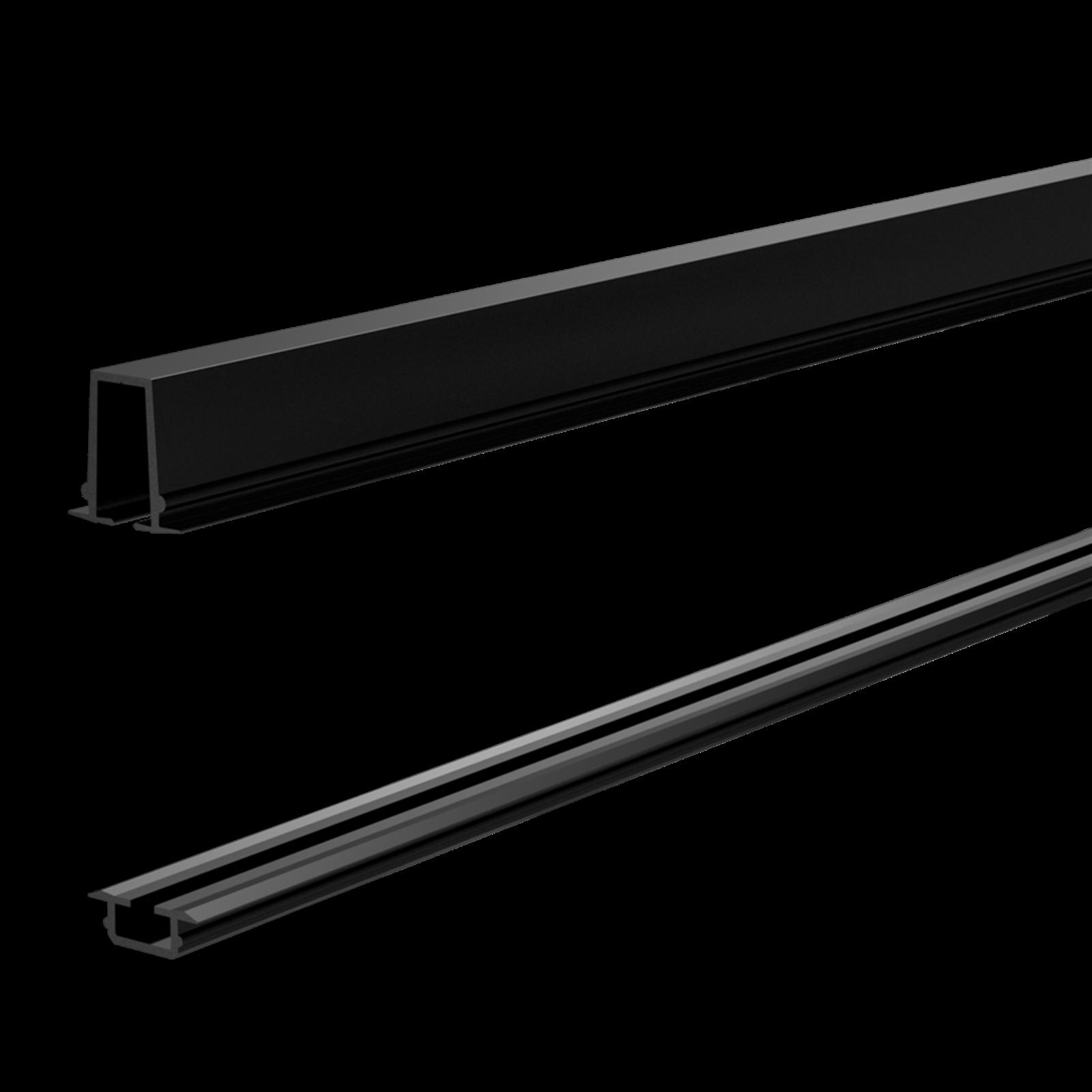 Peak Products 1200m Black Aluminium Balustrade Glass Gasket