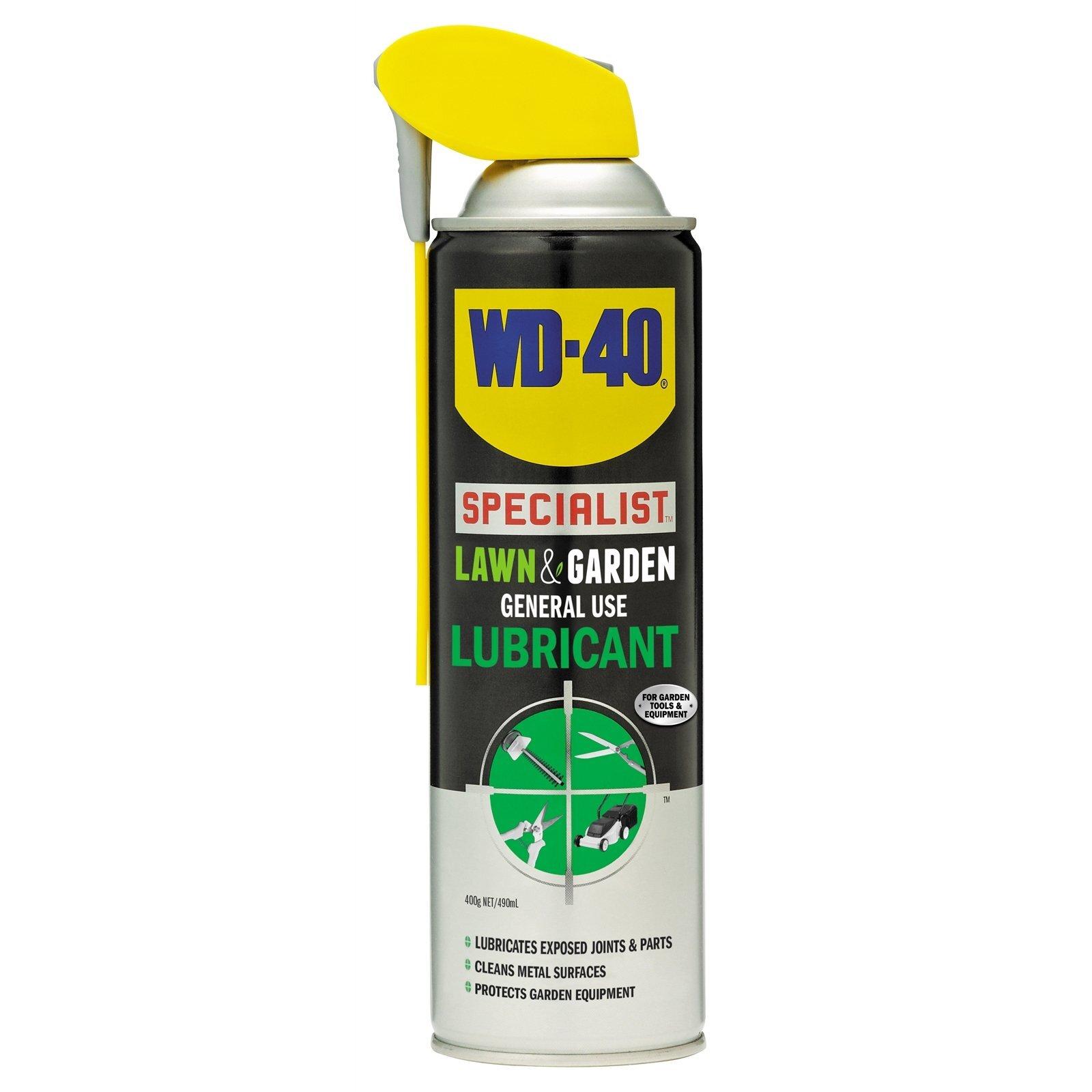 WD-40 Specialist Lawn & Garden Lubricant  490ml
