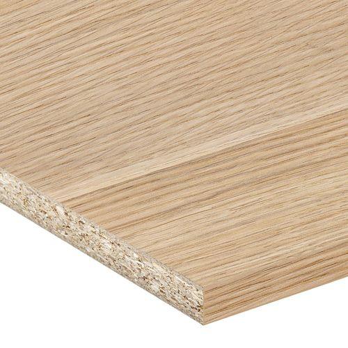 inBuilt 16mm 1800 x 595mm Natural Wood Melamine Colourboard