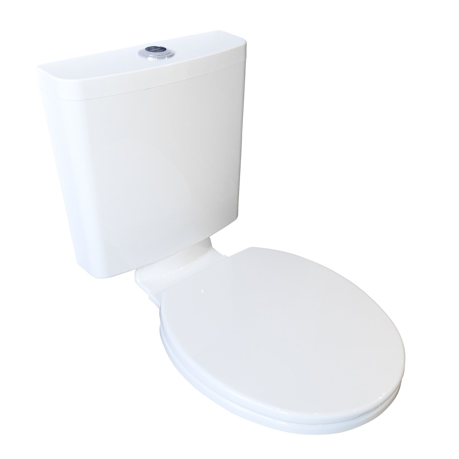 FIX-A-LOO WELS 3 Star 3-5.8L/min Hygenix Touchless Cistern With Seat And Link