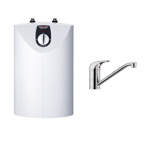 STIEBEL ELTRON SNU 10 Open Vented Water Heater With MES Tap