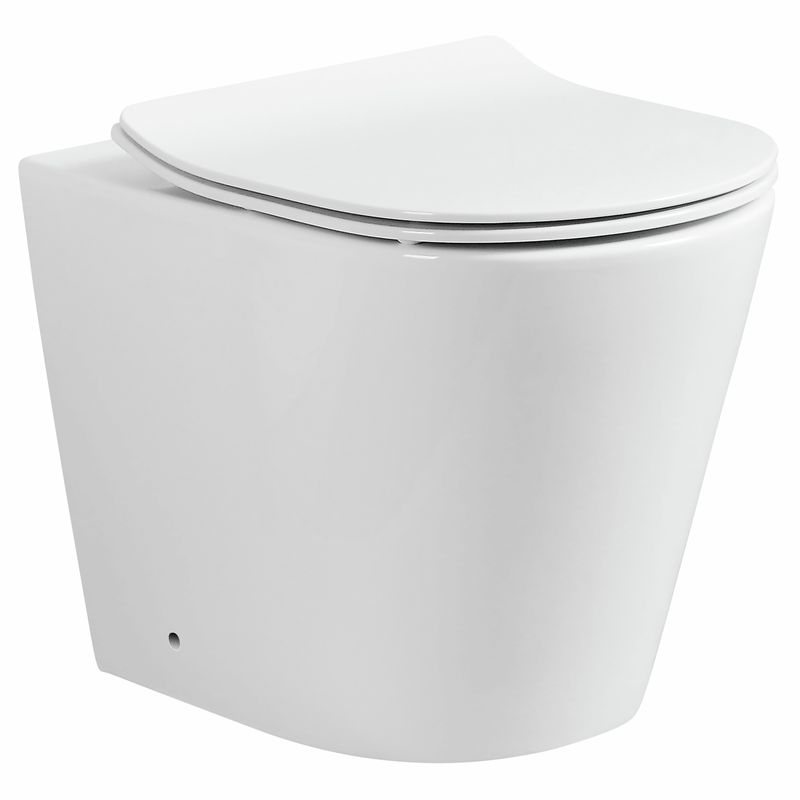Concerto WELS 4 Star 4.5 / 3L White Back To Wall Toilet Pan