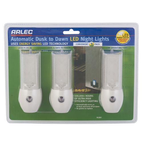 Arlec LED Night Light 3pk