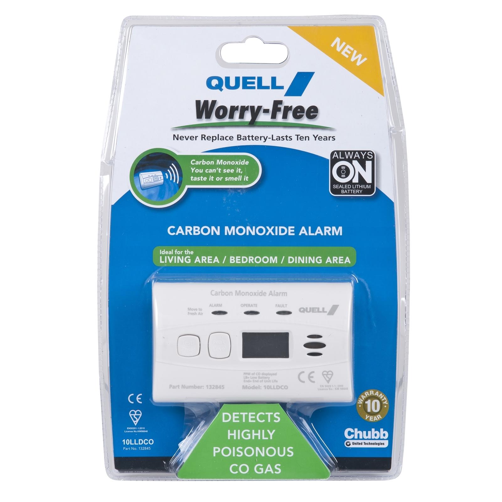 Quell Worry-Free Carbon Monoxide Alarm