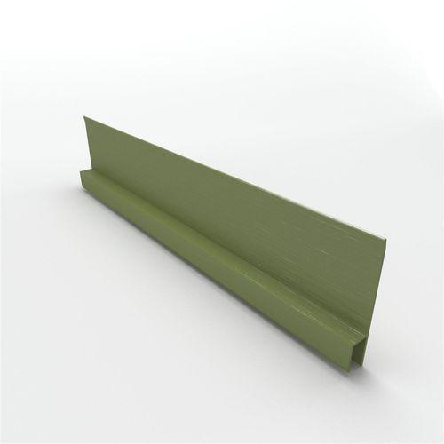 "BGC Duragroove Horizontal ""H"" Mould 3000mm Aluminium"