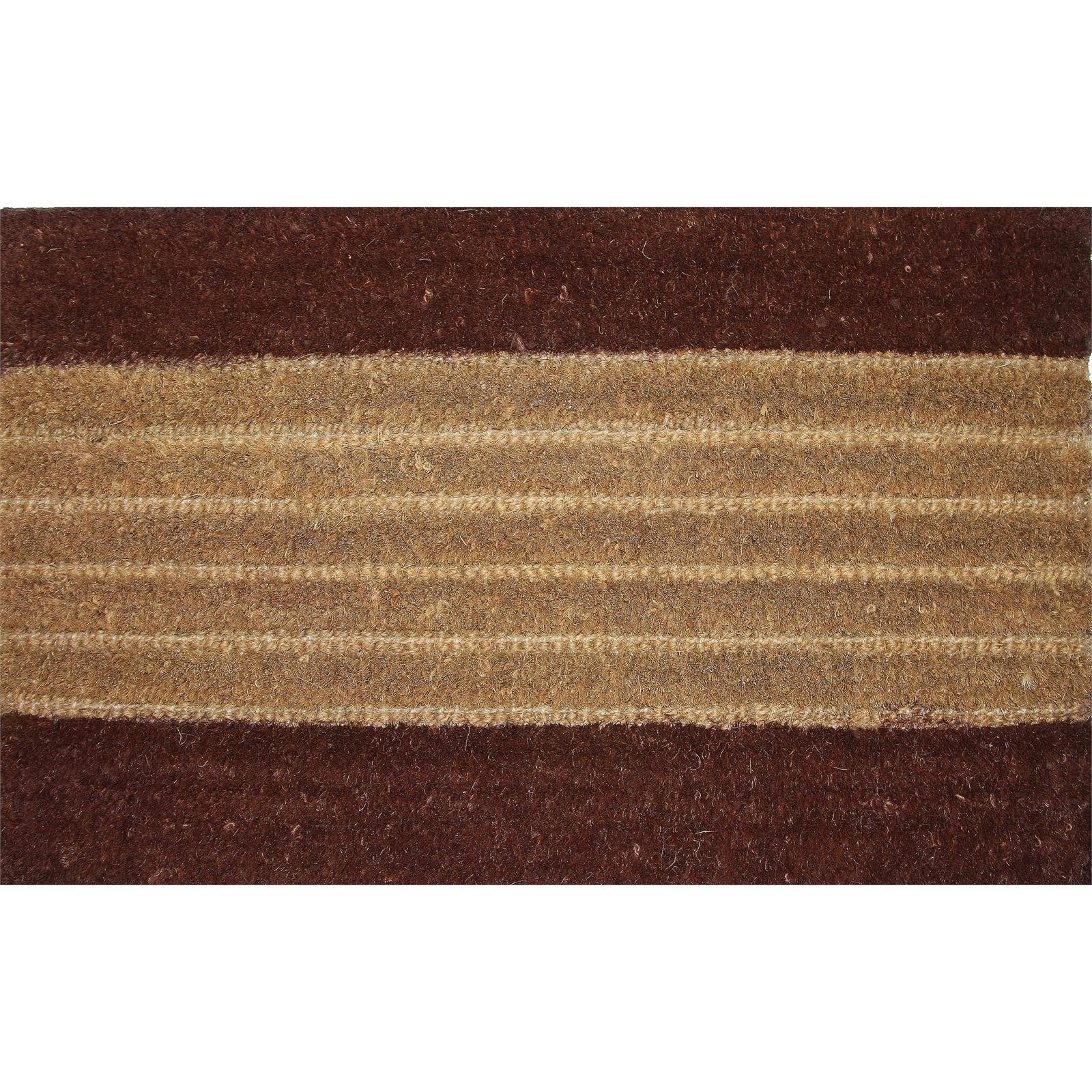 Bayliss 50 x 80cm Expresso Natural Coir Mat