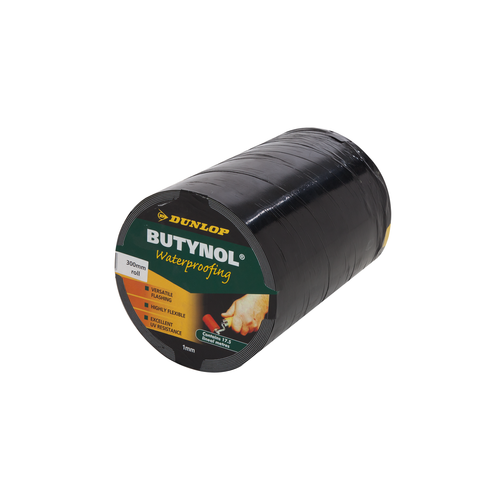 Dunlop 300mm x 17.5m Butynol Waterproofing