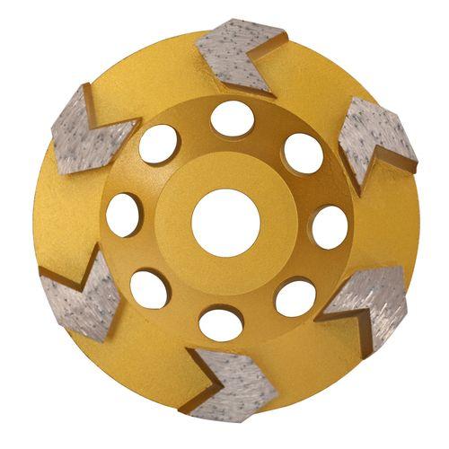 DTA 125mm Boss Arrow Cup Grinding Wheel