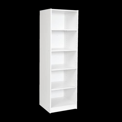 Multistore 1495 x 450 x 430mm 4 Shelves Storage Unit - Crisp White