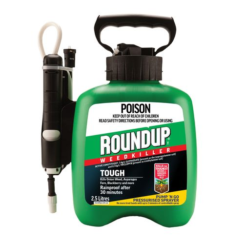 Roundup 2.5L Tough Ready To Use Pump 'N Go Weedkiller