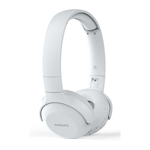 Philips Upbeat On-Ear Wireless Bluetooth Foldable Headphones w/Mic/15hrs White