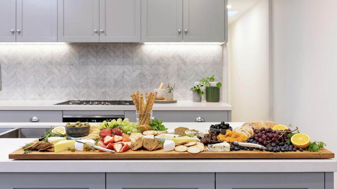 DIY Advice Image - How to make a cheese platter board. G Drive blob storage upload.