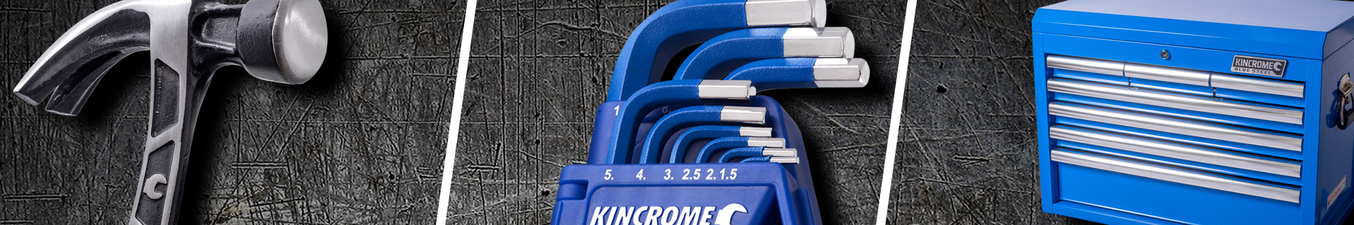 Kincrome socket set and chest trolley.