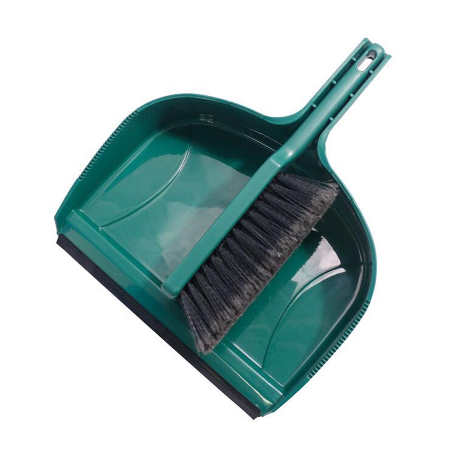 Morgan Jumbo Plastic Dustpan And Brush Set