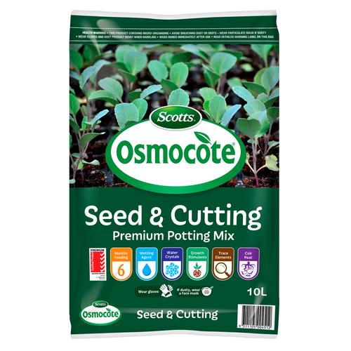 Scotts Osmocote 10L Seed & Cutting Premium Potting Mix
