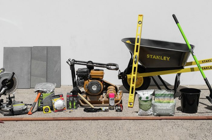 The tools and materials you'll need to complete this project.
