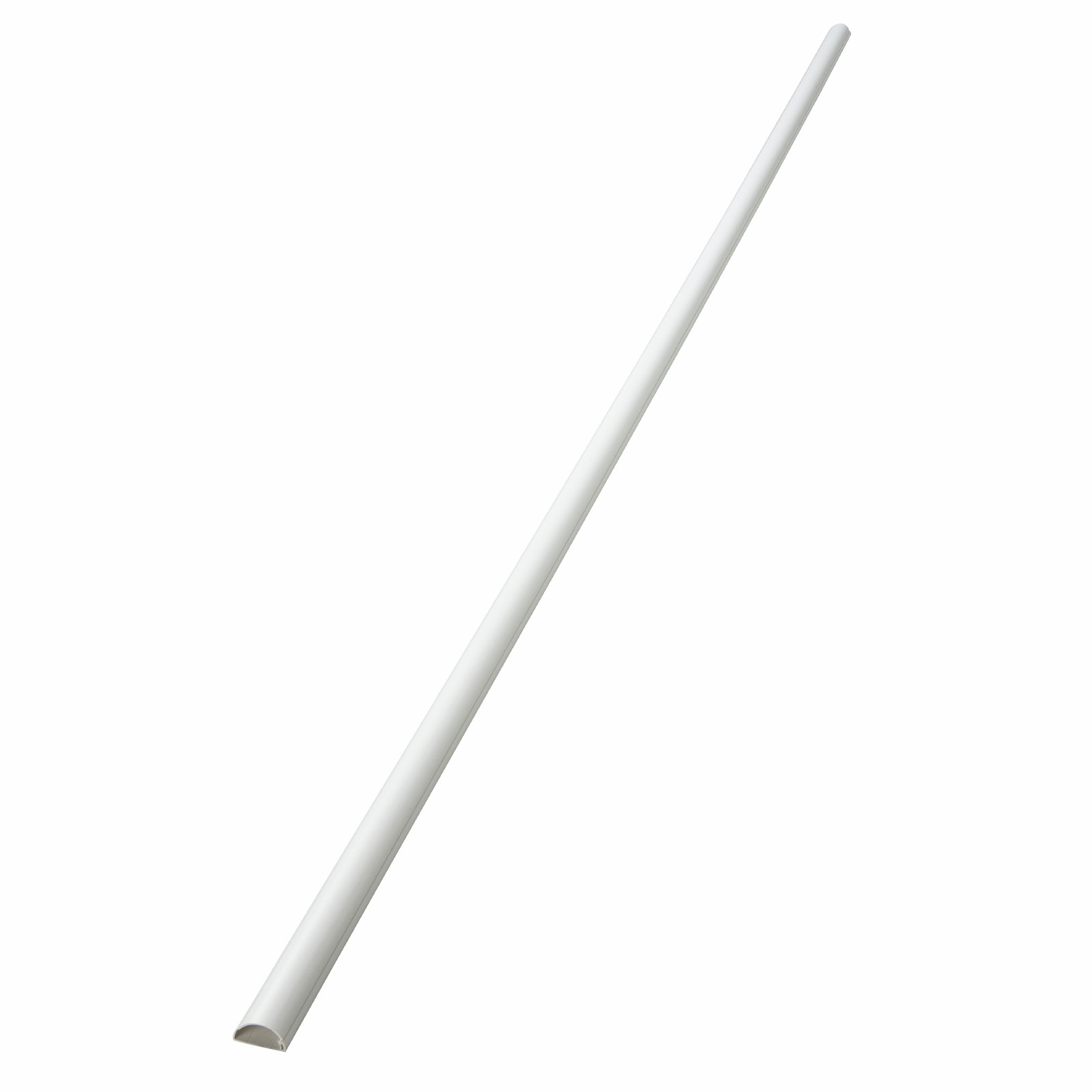 D-Line 16 x 08mm 2m White Adhesive Cable Management Cover