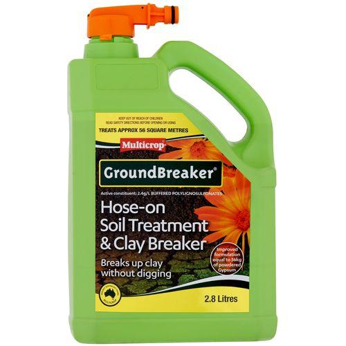 Multicrop 2.8L Groundbreaker Hose-On Soil Treatment And Clay Breaker