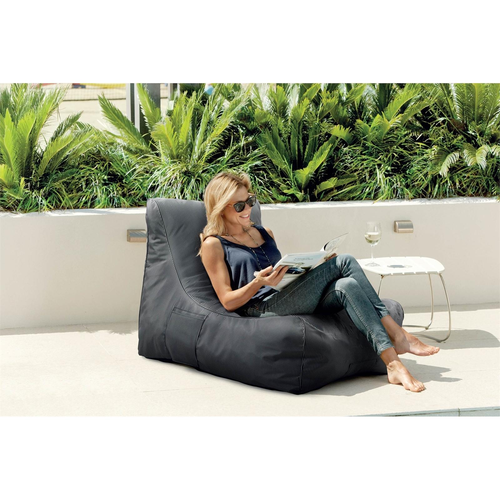 Mojo Classic Pinstripe MyLounge Outdoor Cushion