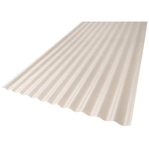 Suntuf 860 x 17mm x 7.2m Diffused Ice Solarsmart Corrugated Sheet