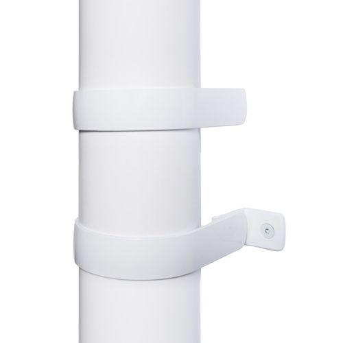eeezz Rainwater Systems 80mm 114 x 83 x 25mm Downpipe Bracket Combo