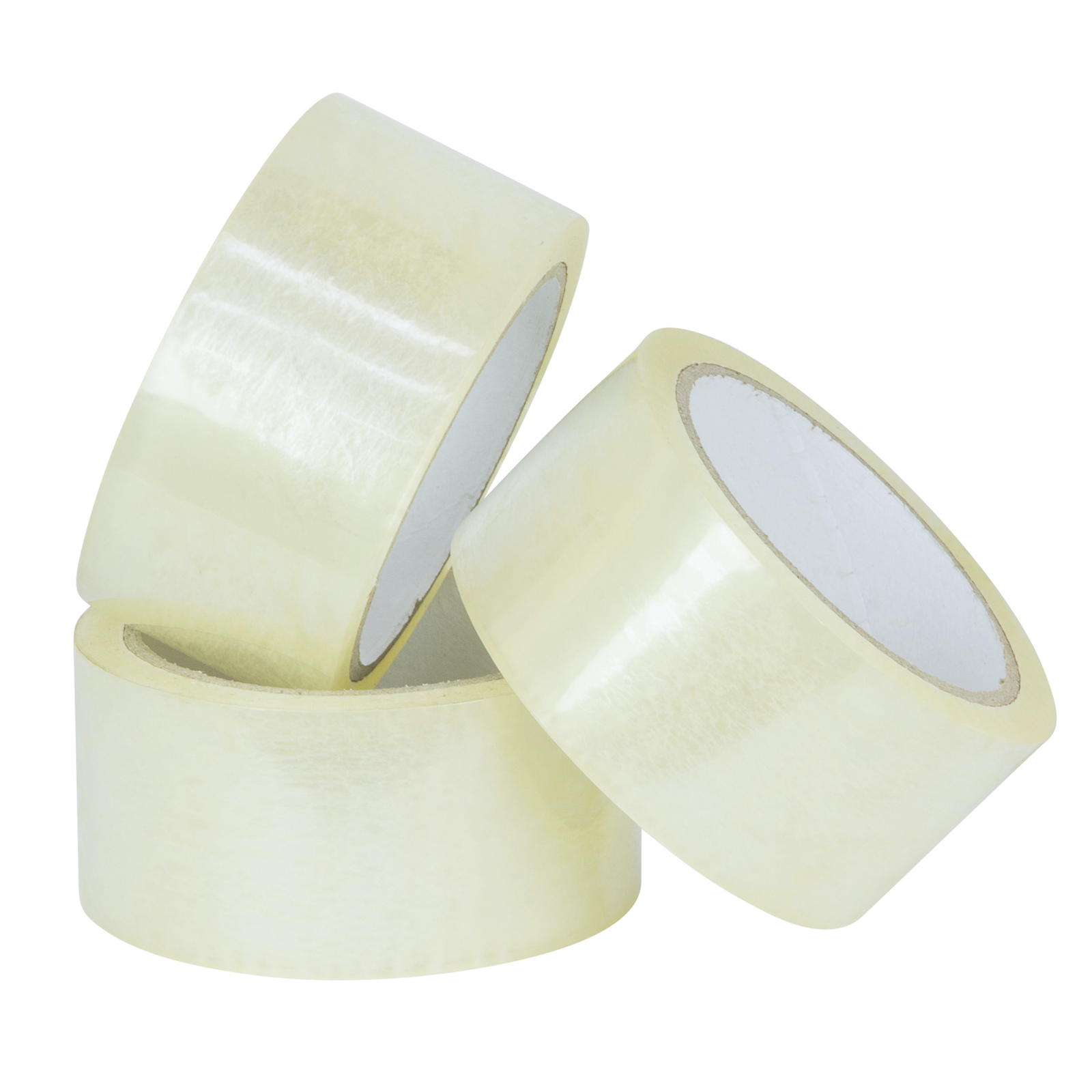 Wrap & Move 48mm x  50m Packing Tape Clear - 3 Pack