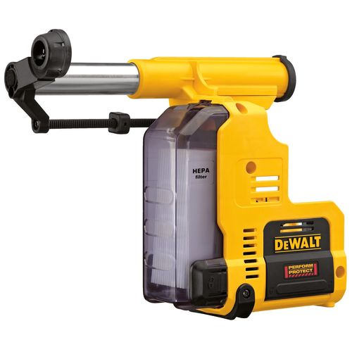 18V XR Cordless Rotary Hammer Dust Extraction System