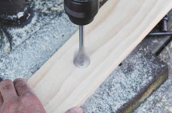 DIY Advice Image - How to make a dowel Christmas tree. G Drive blob storage upload.