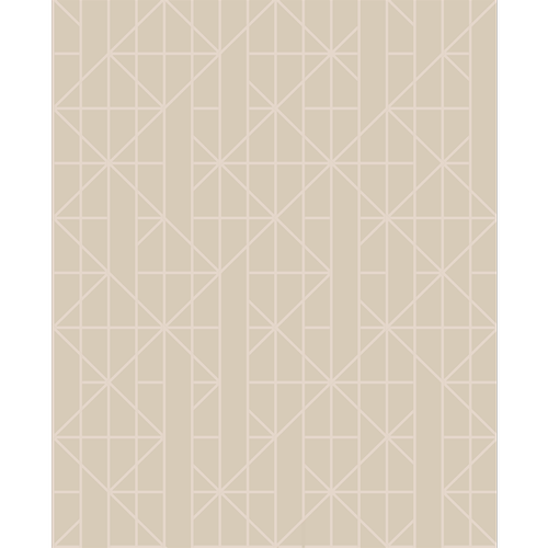 Designer 52cm Taupe / Rose Gold Wallpaper - Taupe / Rose Gold ½m