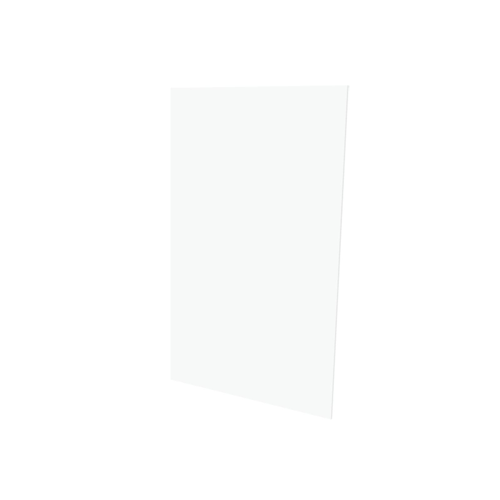 Vistelle 2070 x 1250 x 4mm Salt High Gloss Acrylic Bathroom Panel