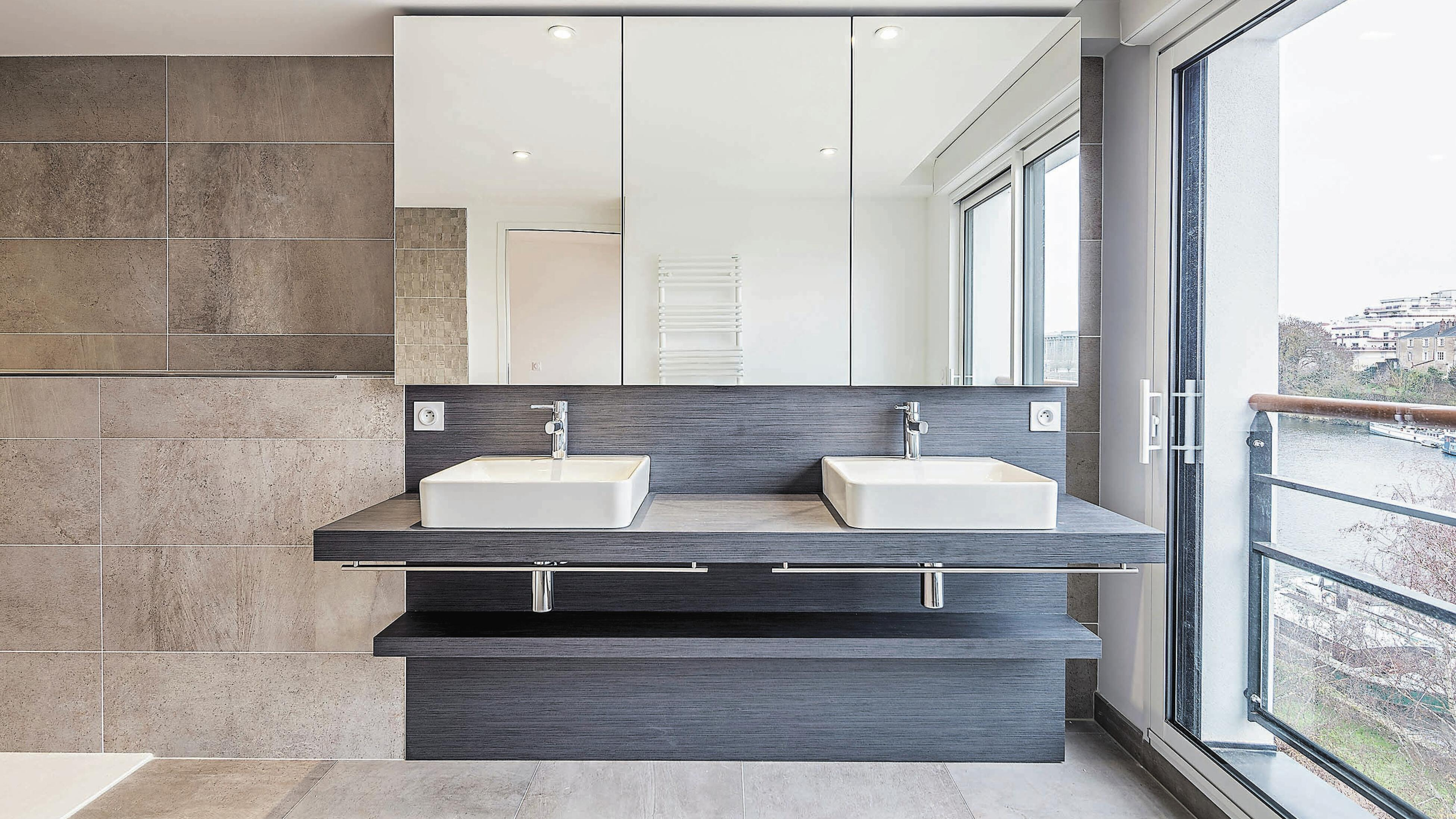 All-in-one bathroom solution