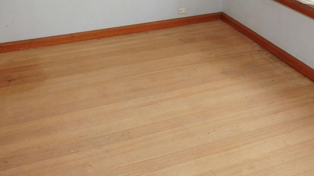 Timber floors.
