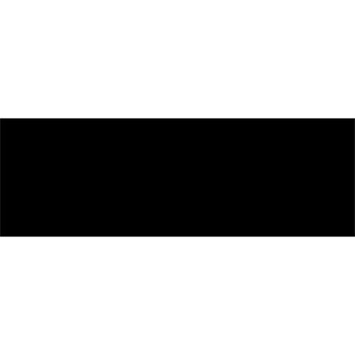 Johnson 297 x 97mm Black Gloss Neutral Wall Tile - Carton 27