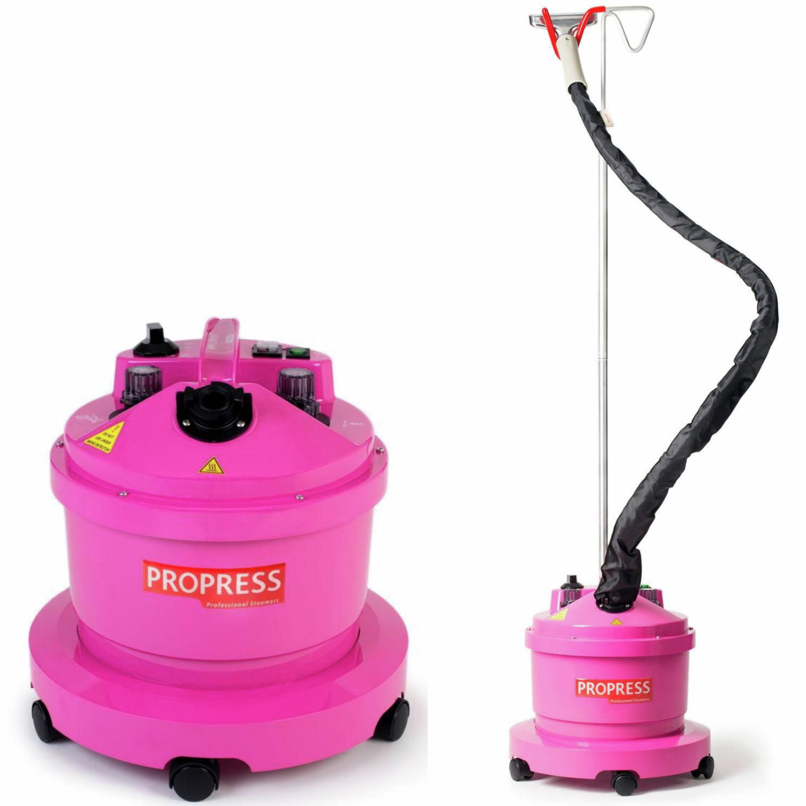 PROPRESS Garment Steamer Iron Clothes Heavy Duty Professional Pro 580 - Pink
