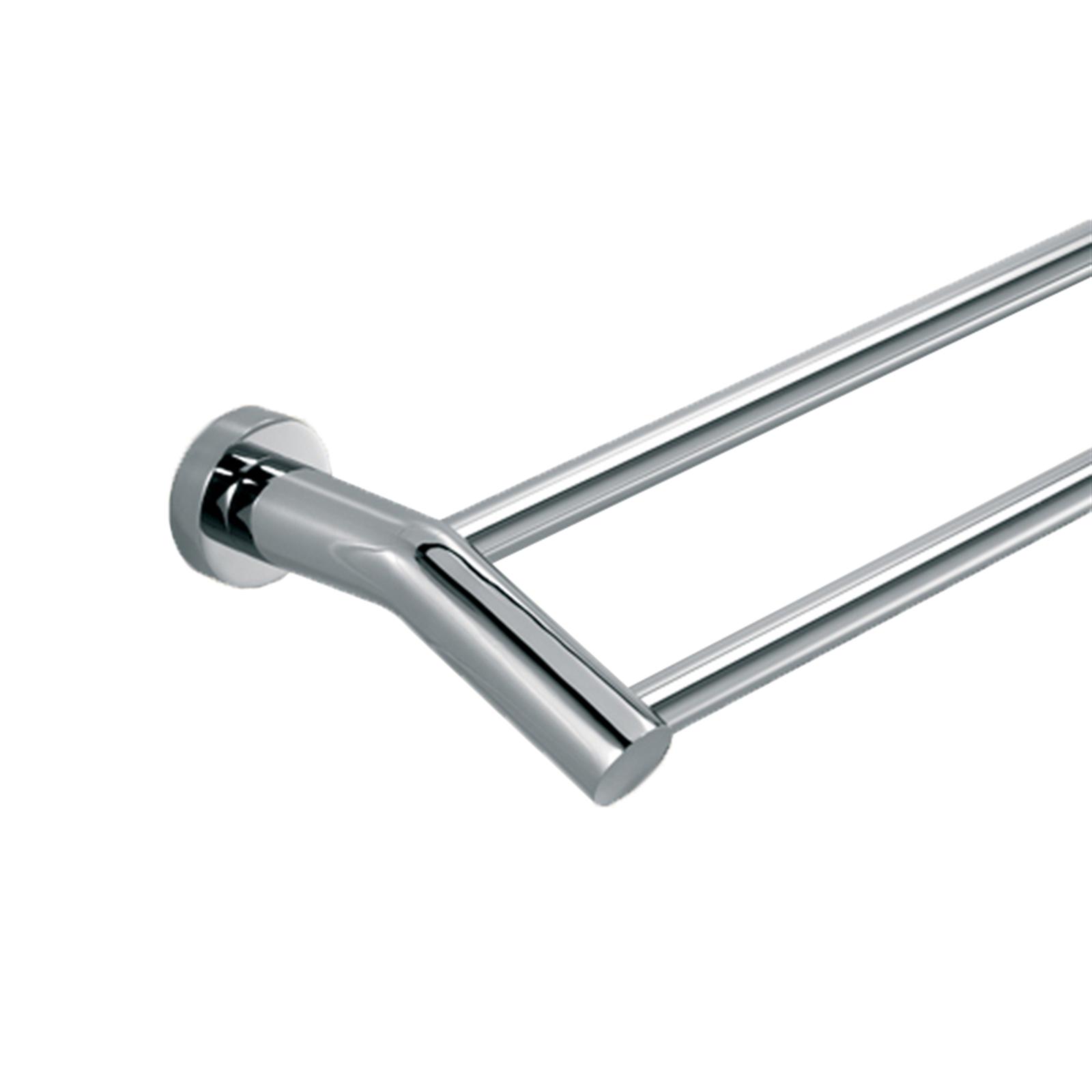 Caroma 600mm Chrome Double Towel Rail
