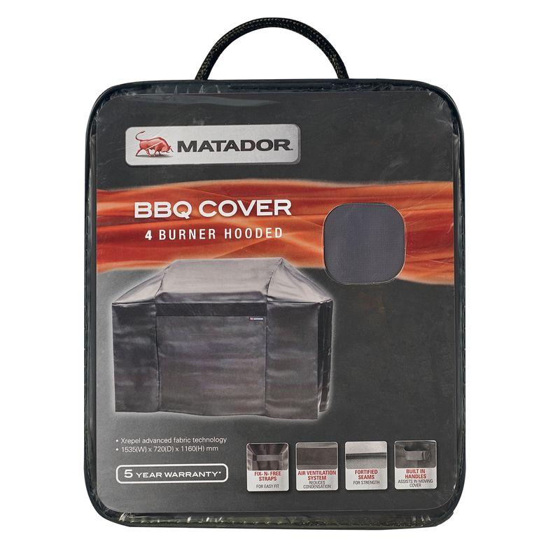 Matador Xrepel BBQ Cover - 4 Burner
