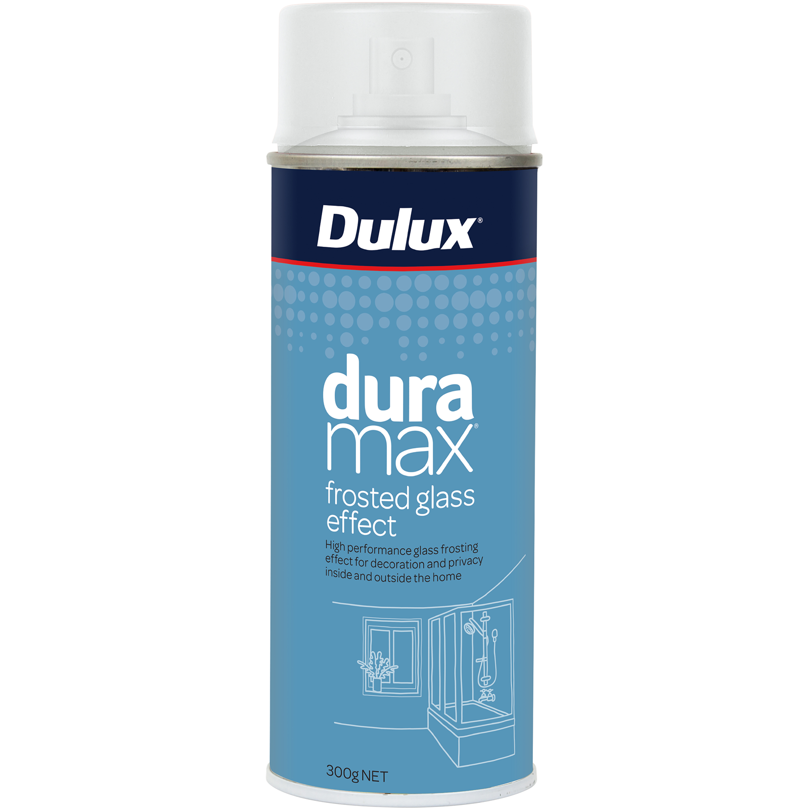Dulux 300g Duramax Gloss Frosted Effect