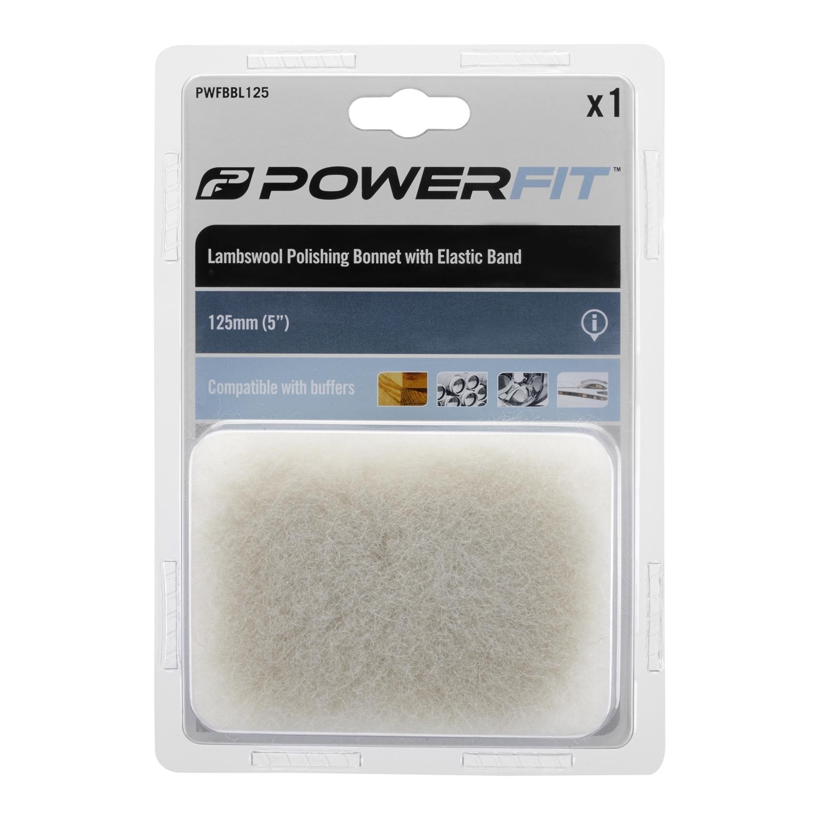 Powerfit Buffing Bonnet 125mm