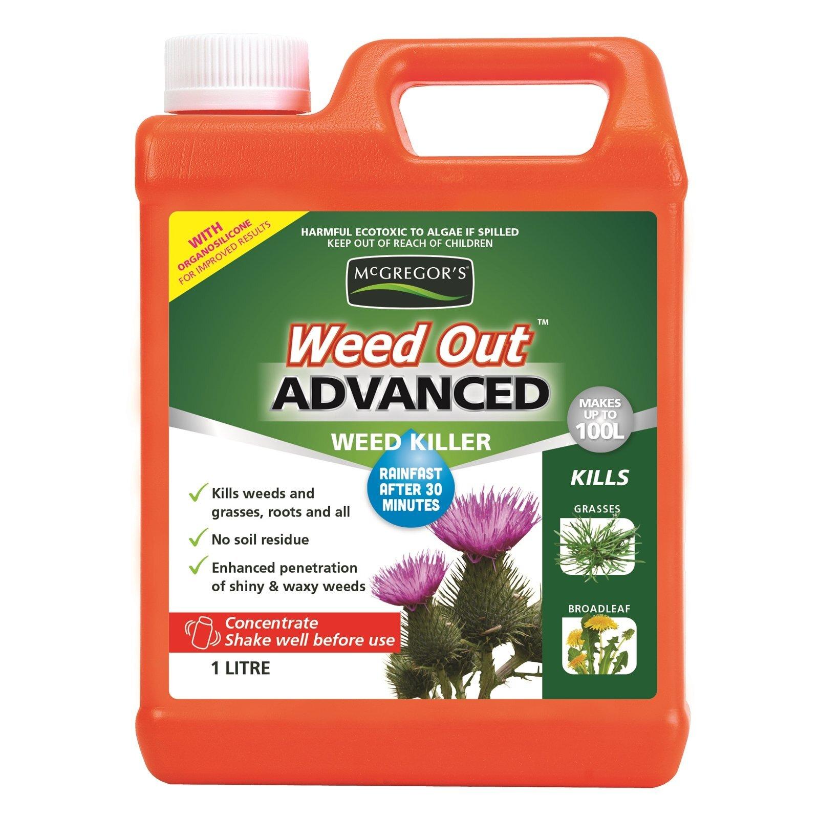 McGregor's Weedout Advanced Weed Killer 1L