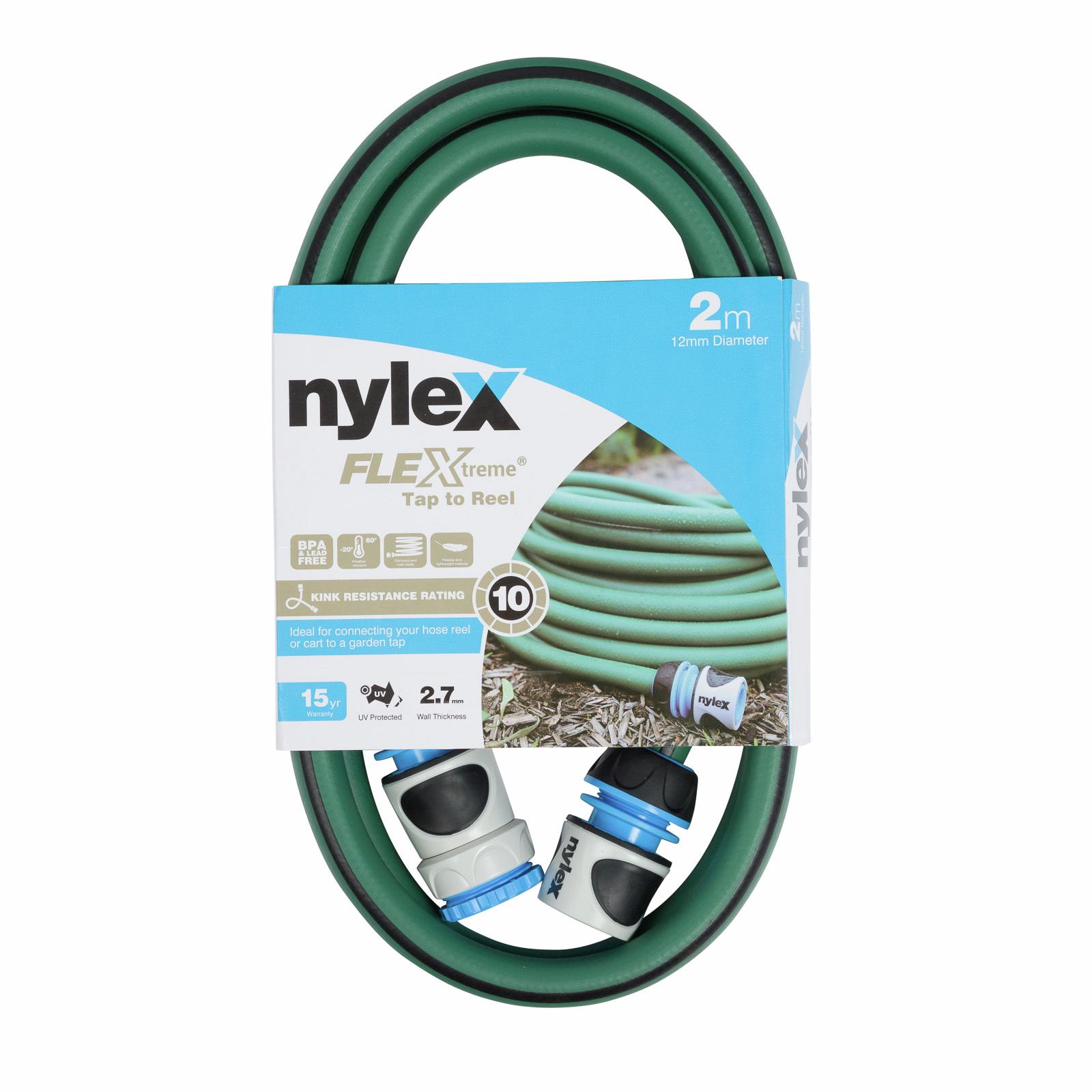 Nylex 2m Tap To Reel Flextreme Garden Hose